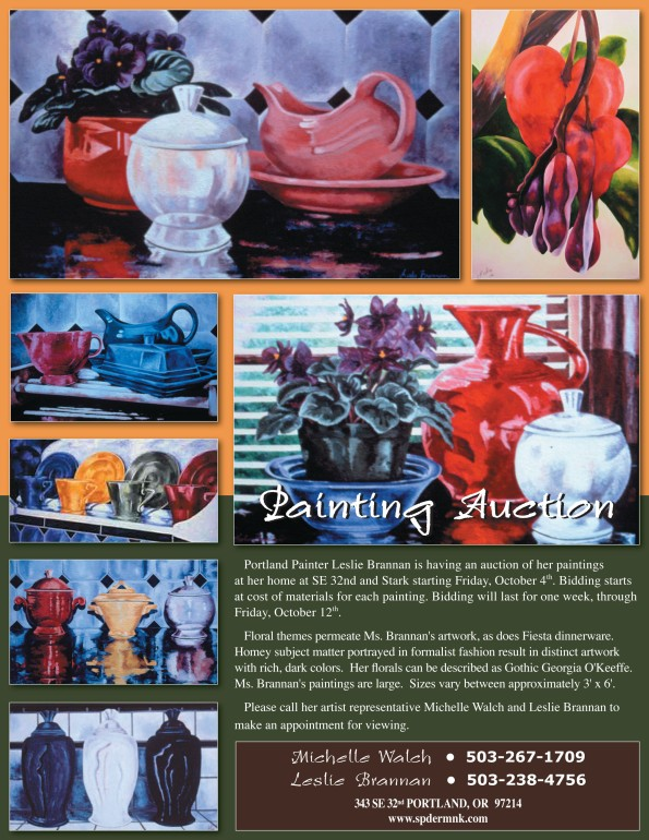 Flyer on Painting Auction.indd